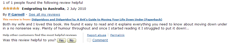 Amazon Review July 2010 2