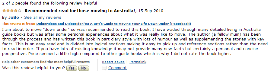 Amazon Review 2010