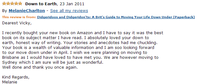 Amazon Review Jan 2011