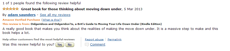 Amazon Review March