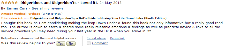 Amazon Review May