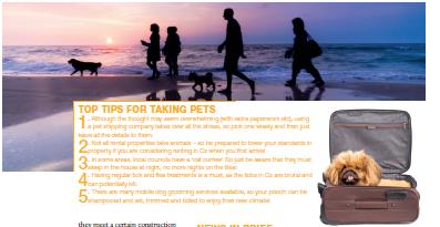 Taking pets to Australia
